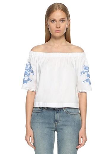 Ancient Kallos Bluz Beyaz